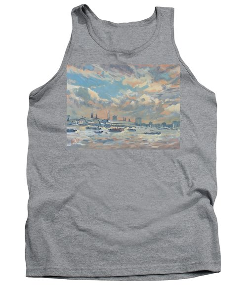 Sail Regatta On The Ij Tank Top