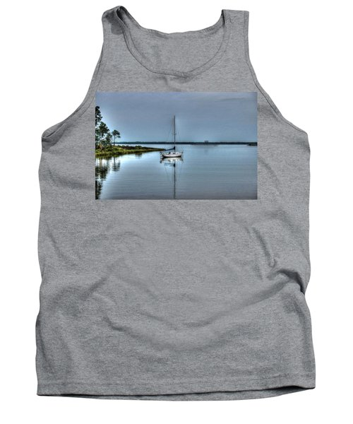 Sailboat Off Plash Tank Top