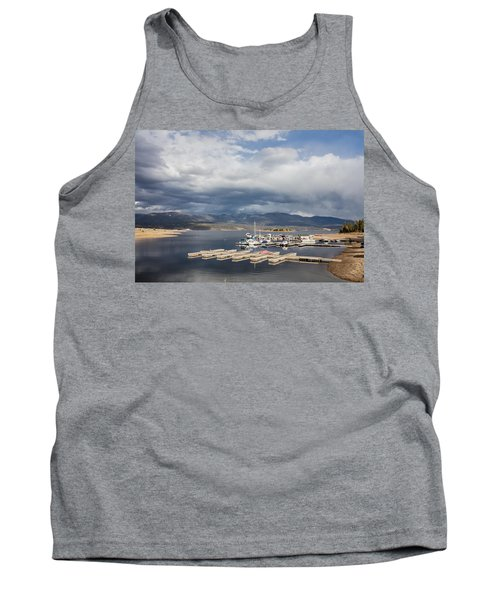Sailboat Slips On Lake Granby In Grand County Tank Top by Carol M Highsmith