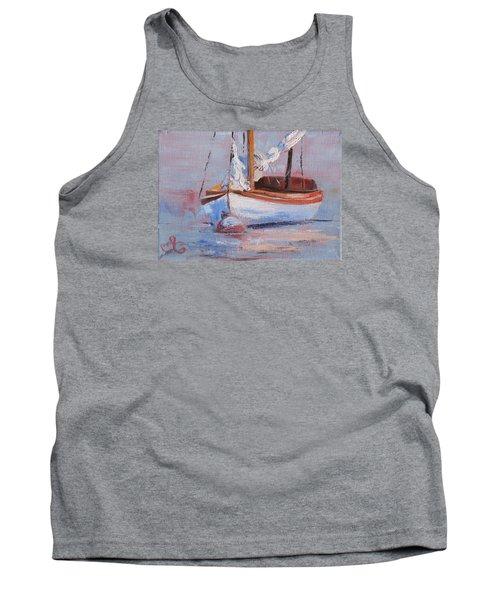 Sailboat Wisdom Tank Top by Trina Teele