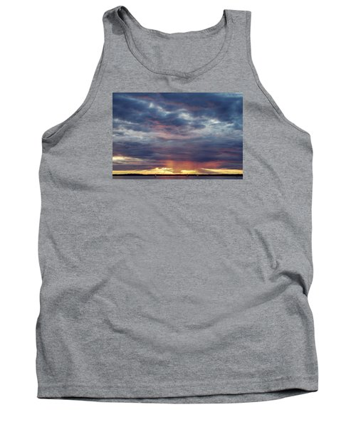 Sailboats On The Bay Tank Top by Elvira Butler