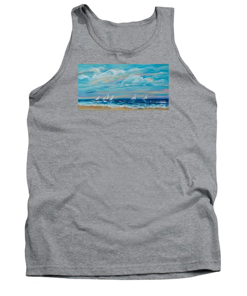 Sailing Close To The Shore Tank Top