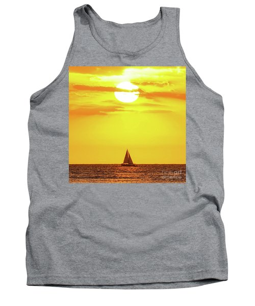 Sailing In Hawaiian Sunshine Tank Top