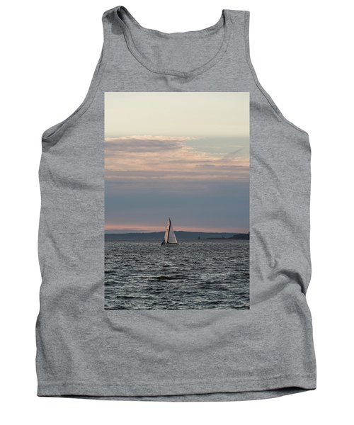Sailing In The Puget Sound Tank Top