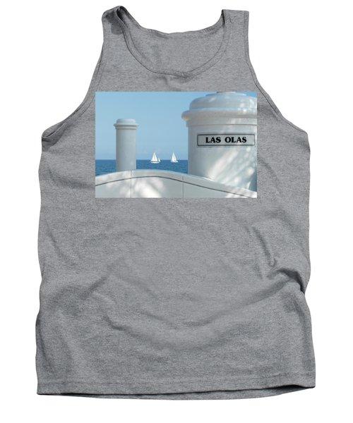 Sailing Las Olas Tank Top