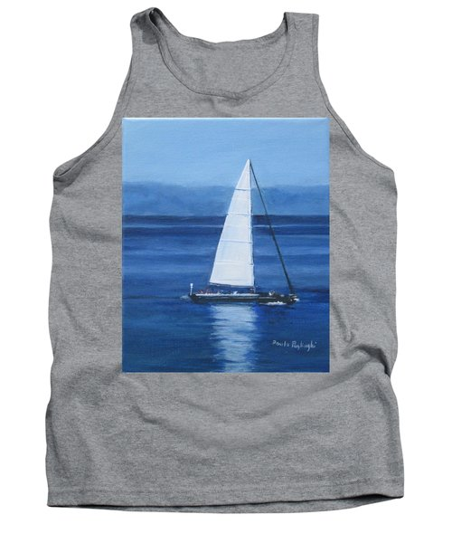 Sailing The Blues Tank Top