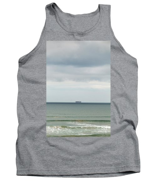 Tank Top featuring the photograph Sailing The Horizon by Linda Lees