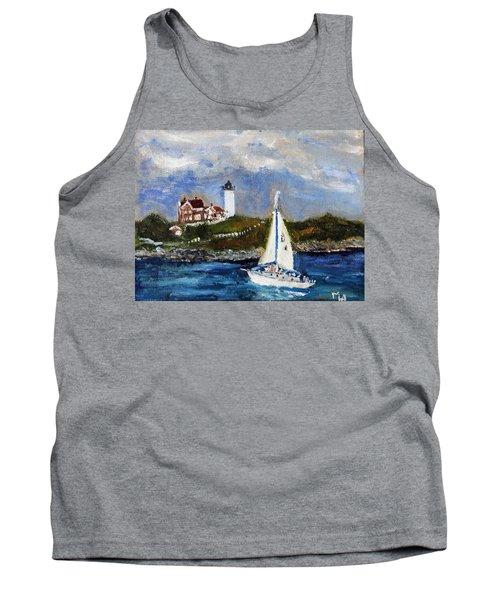 Sailing To Martha's Vineyard Tank Top