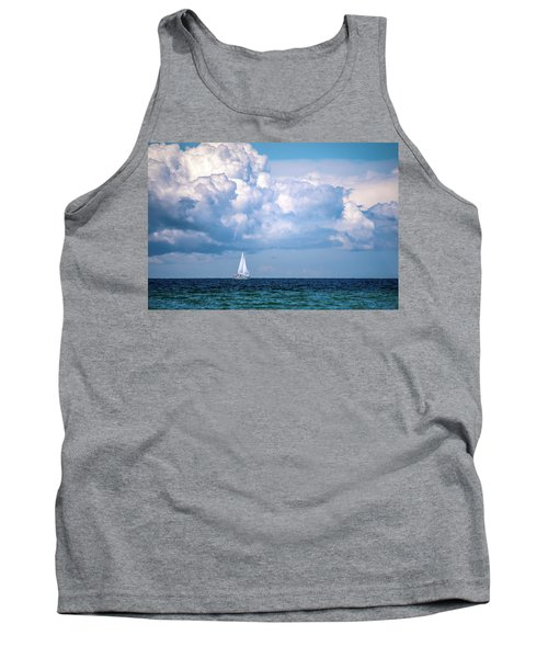 Sailing Under The Clouds Tank Top
