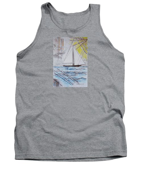 Sailors Delight Tank Top by J R Seymour
