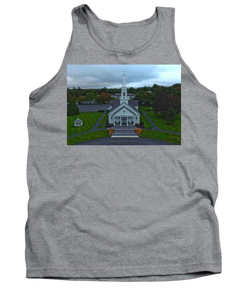 Saint Mary's Church From Above Tank Top