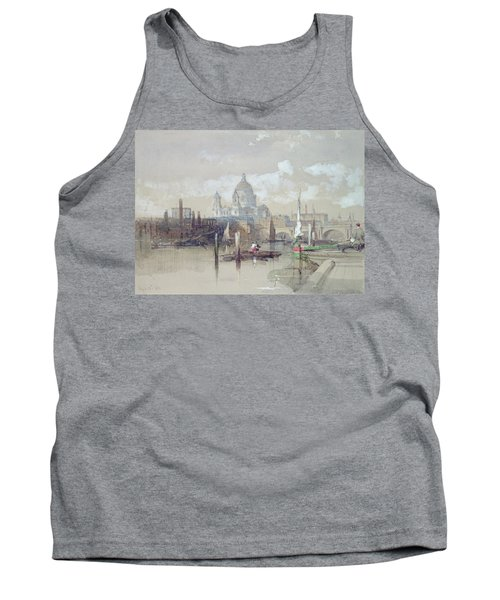 Saint Pauls From The River Tank Top