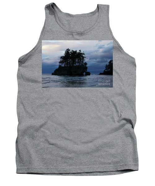 Tank Top featuring the photograph Salt Creek At Sunset by Jane Eleanor Nicholas