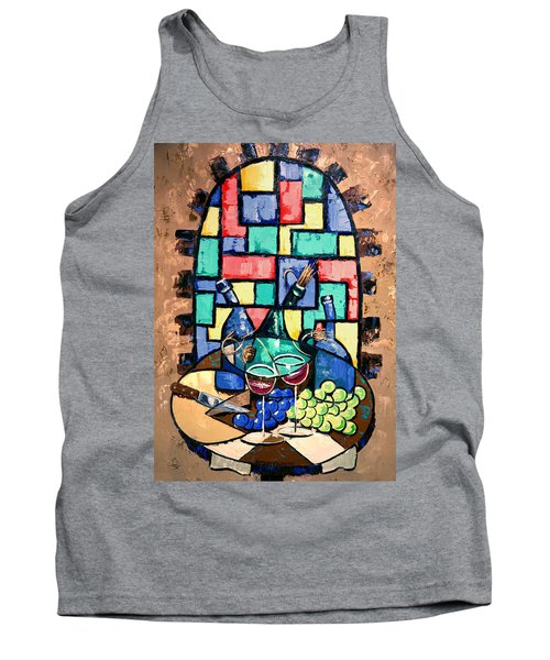 Salute Happy Hour In Tuscany Tank Top