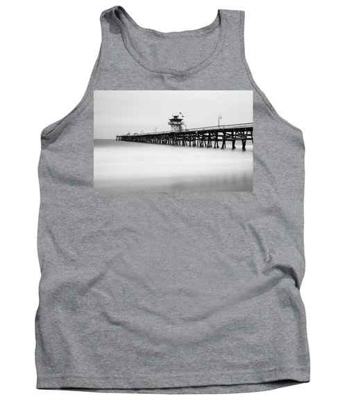 San Clemente Pier Tank Top by Tassanee Angiolillo