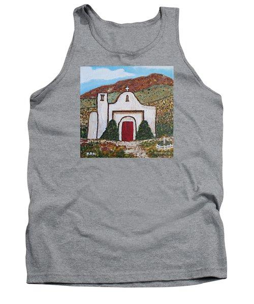 San Francisco De Asis Mission Church, Golden, Nm Tank Top