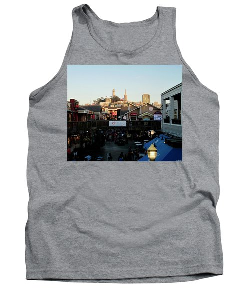 Tank Top featuring the photograph San Francisco In The Sun by Tony Mathews