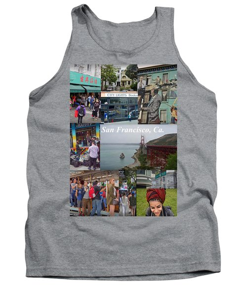 Tank Top featuring the photograph San Francisco Poster by Joan Reese