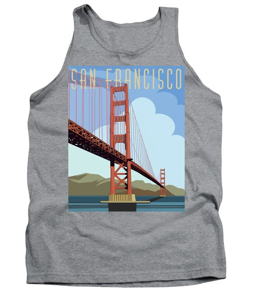 San Francisco Poster  Tank Top