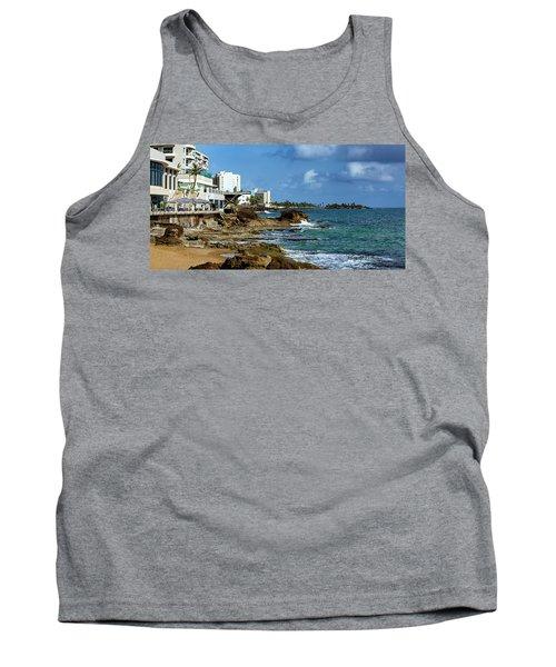San Juan Bay In Puerto Rico Tank Top