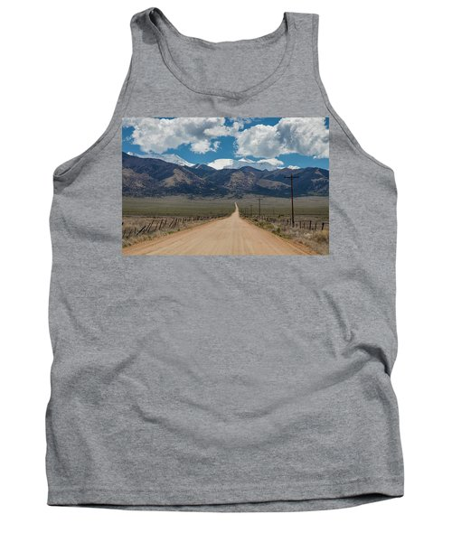 San Luis Valley Back Road Cruising Tank Top by James BO Insogna