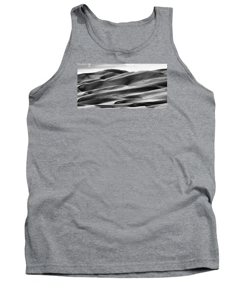 Tank Top featuring the photograph Sand Dunes And Shadows by Monte Stevens