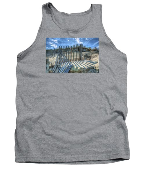 Sand Fence Tank Top by Greg Reed