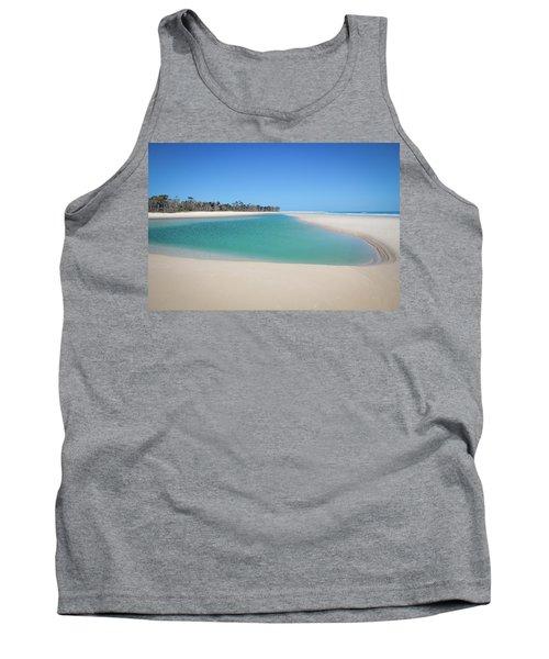 Sand Island Paradise Tank Top