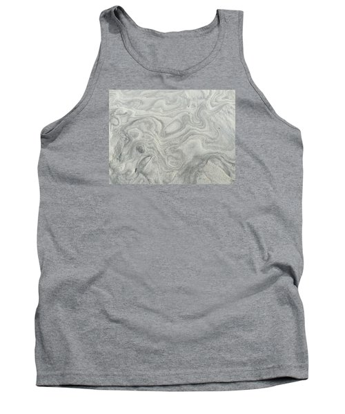 Sand Sculpture Tank Top by Christine Lathrop