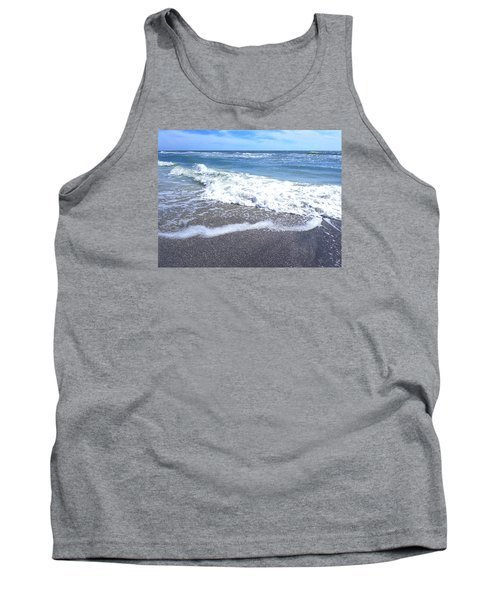 Tank Top featuring the photograph Sand, Sea, Sun No. 1 by Ginny Schmidt