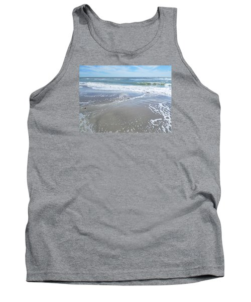 Tank Top featuring the photograph Sand, Sea, Sun, No. 3 by Ginny Schmidt