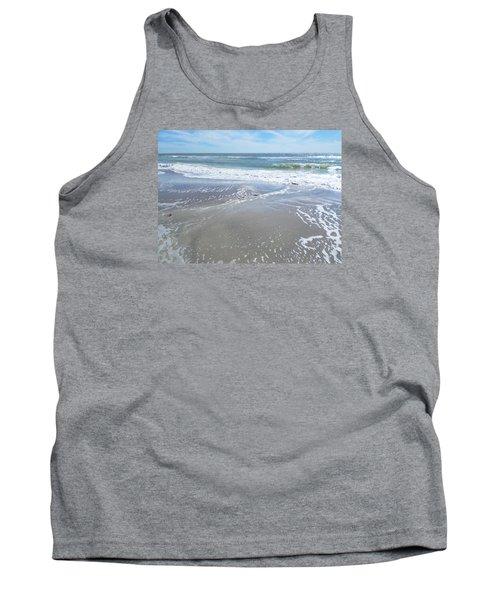Sand, Sea, Sun, No. 3 Tank Top by Ginny Schmidt
