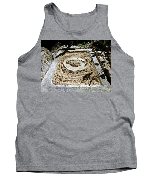 Tank Top featuring the photograph Sand Turtle Print by Francesca Mackenney