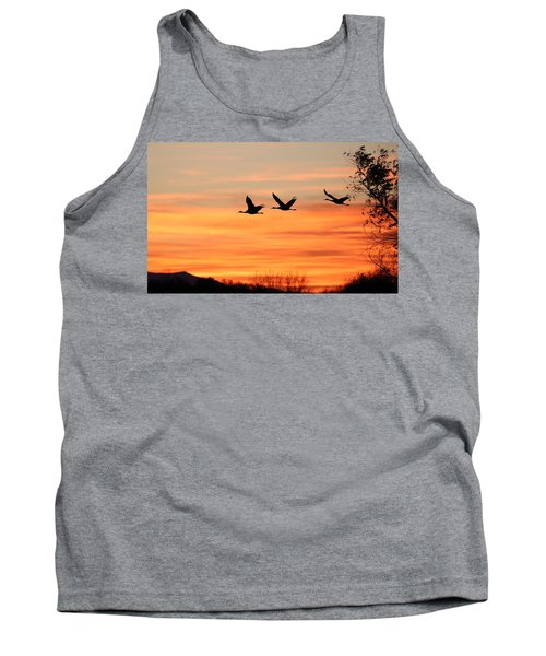 Sandhill Sunrise Tank Top