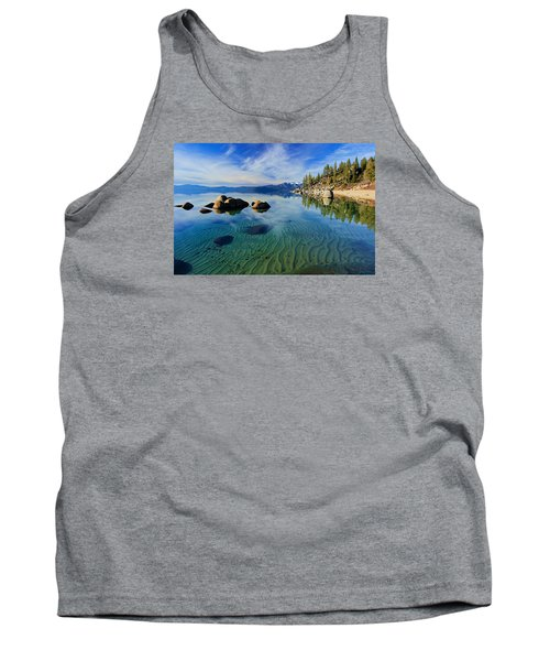 Sands Of Time 2 Tank Top by Sean Sarsfield