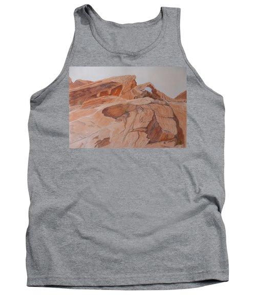 Sandstone Rainbow Tank Top
