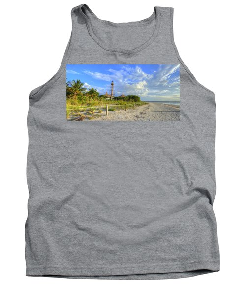 Sanibel Light House Tank Top