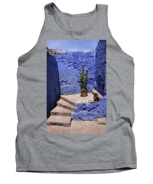 Tank Top featuring the photograph Santa Catalina Monastery by Aidan Moran