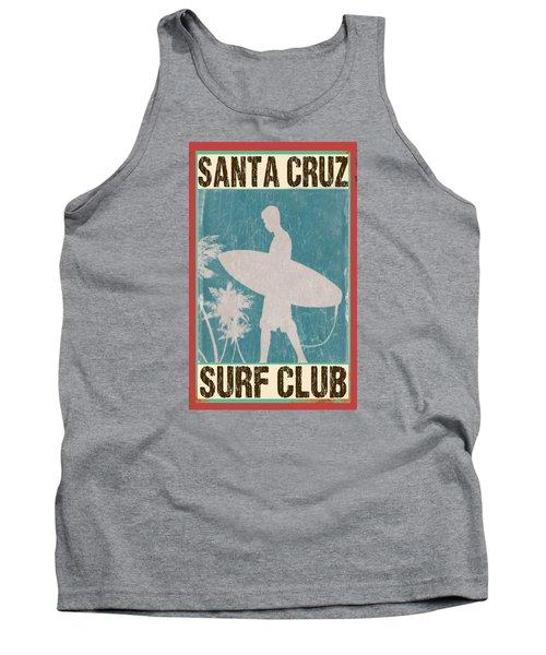 Santa Cruz Surf Club Tank Top by Greg Sharpe