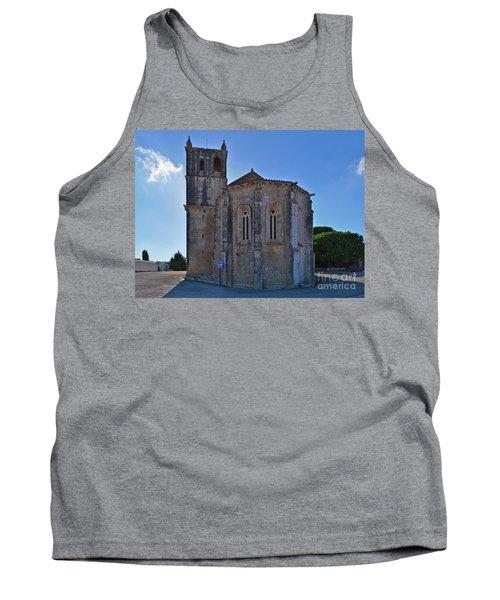 Santa Maria Do Carmo Church In Lourinha. Portugal Tank Top