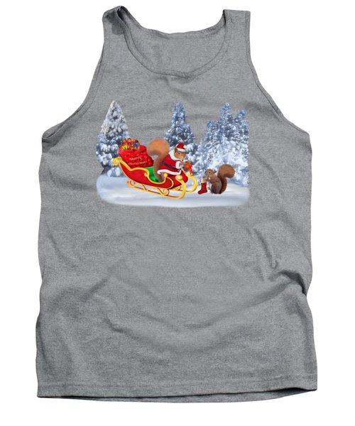 Santa's Little Helper Tank Top