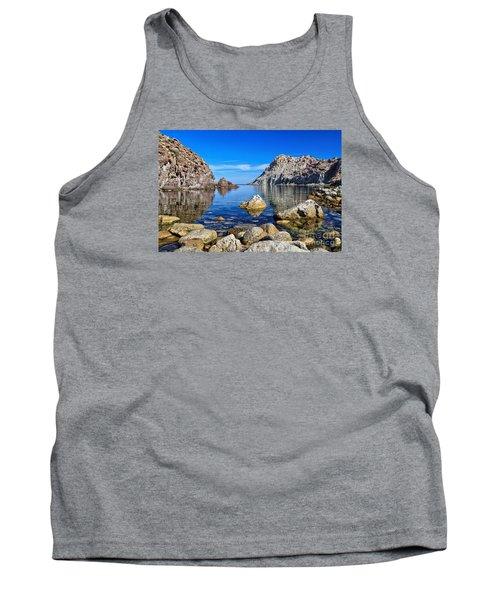 Sardinia - Calafico Bay  Tank Top
