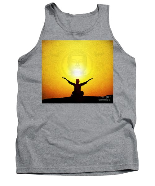 Tank Top featuring the photograph Sat Chit Ananda by Tim Gainey