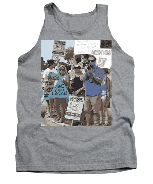 Save Our Lagoon Tank Top