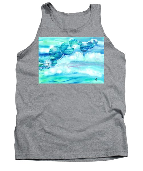 Planet Earth - Save Our Oceans Tank Top