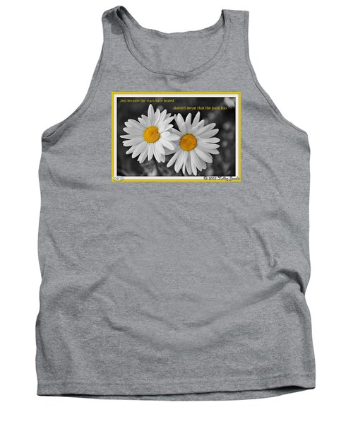 Scars Have Healed Tank Top by Holley Jacobs