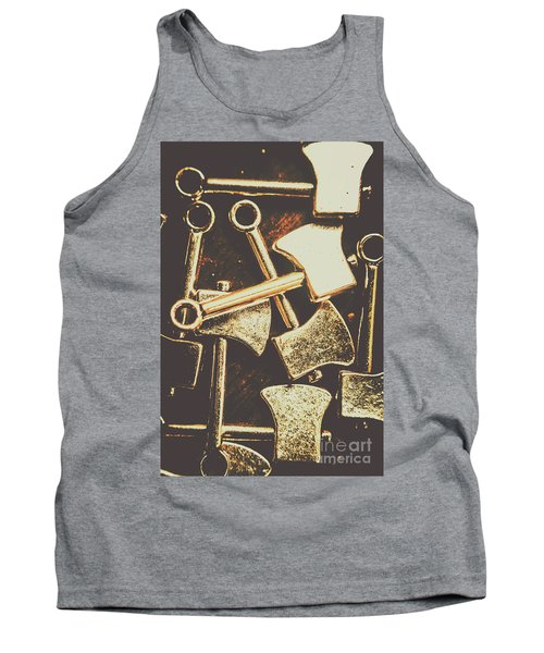 Scattering Axes Tank Top