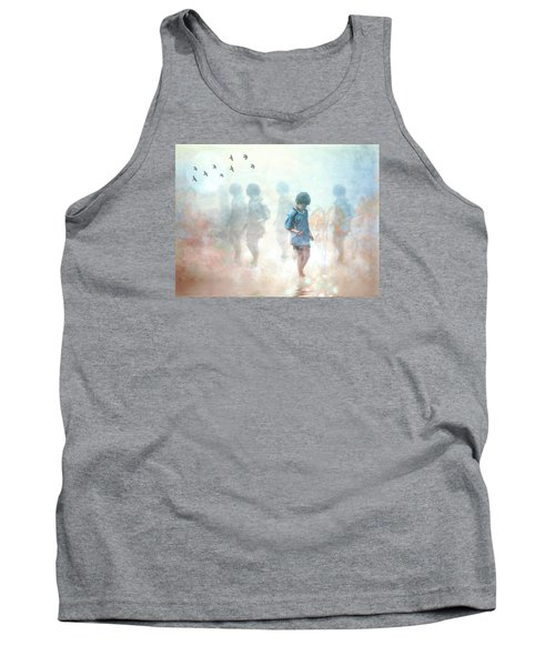 Scavenger--holding The Earth Tank Top