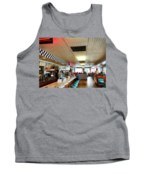 Scenes From A Diner Tank Top