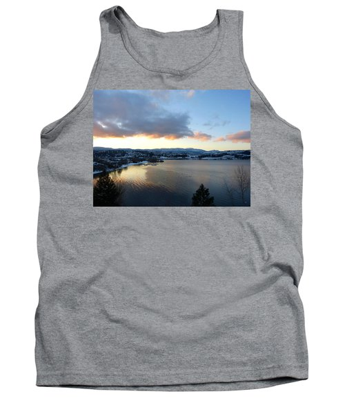 Tank Top featuring the photograph Scenic Lake Country by Will Borden
